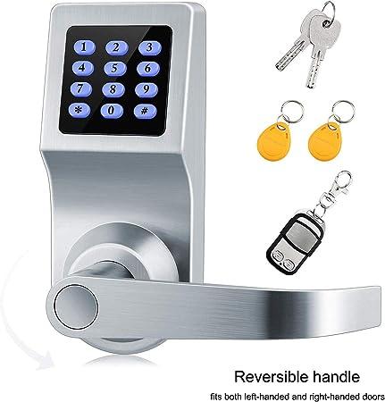 Amazon.com: Cerradura de puerta inteligente, cerradura de ...