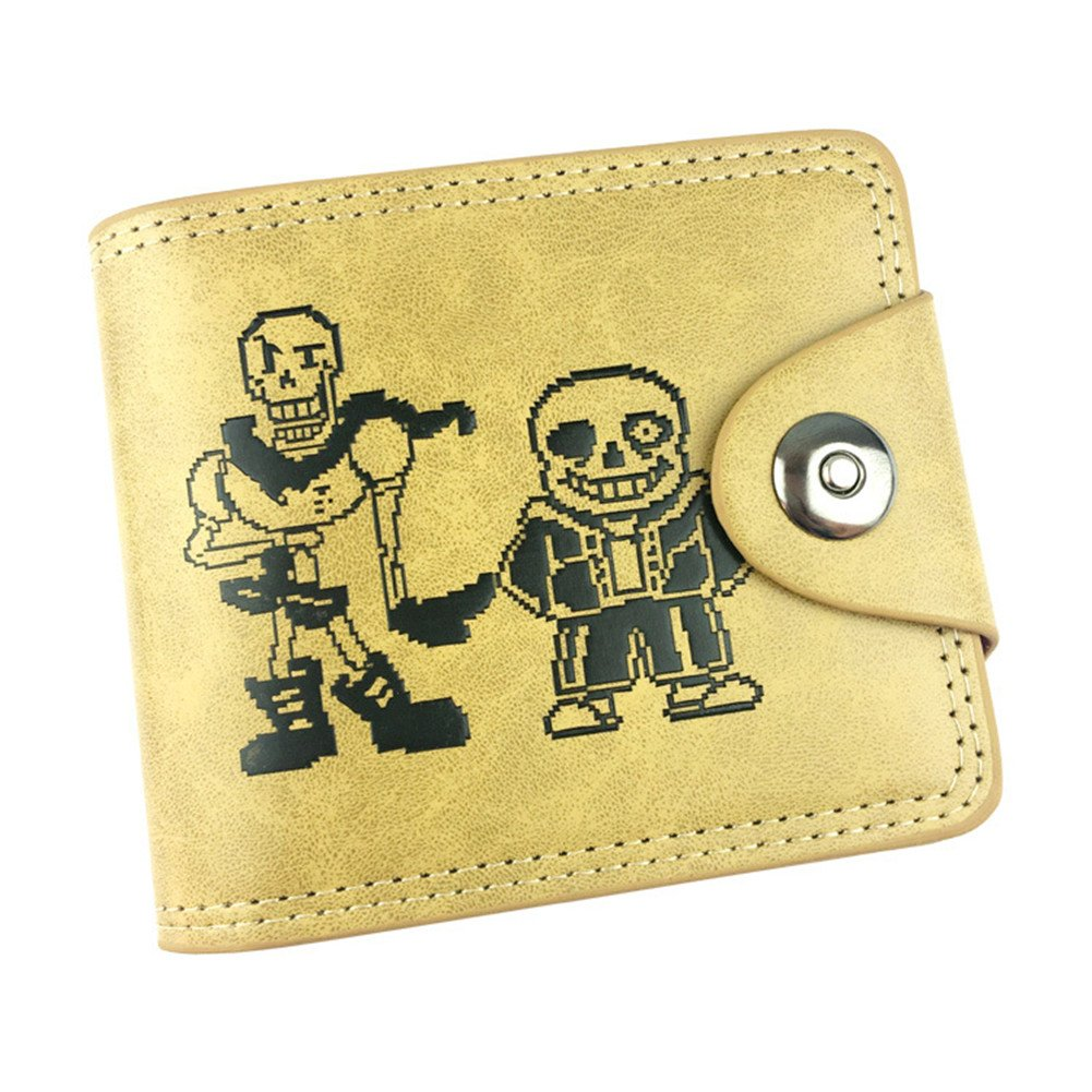 Gumstyle Undertale Anime Cosplay 10 Slots Bifold Wallet Card Holder Purse 2
