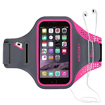 low priced 9f483 0c41b Running Armband Waterproof Sportband Case with Key Holder & Card Slot Great  for Running, Biking, Hiking ,Exercise ,Gym Fit Your iPhone XS/XR/XS Max/X,  ...