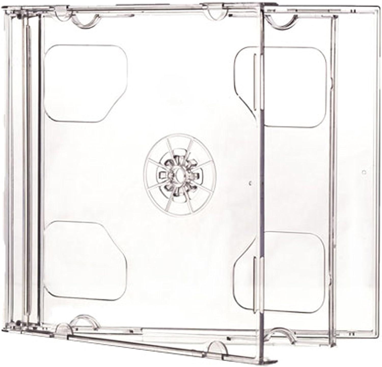Media Replication 5/MRCD2JCC10.4 - Caja para 2 CD, DVD o Blu-ray ...