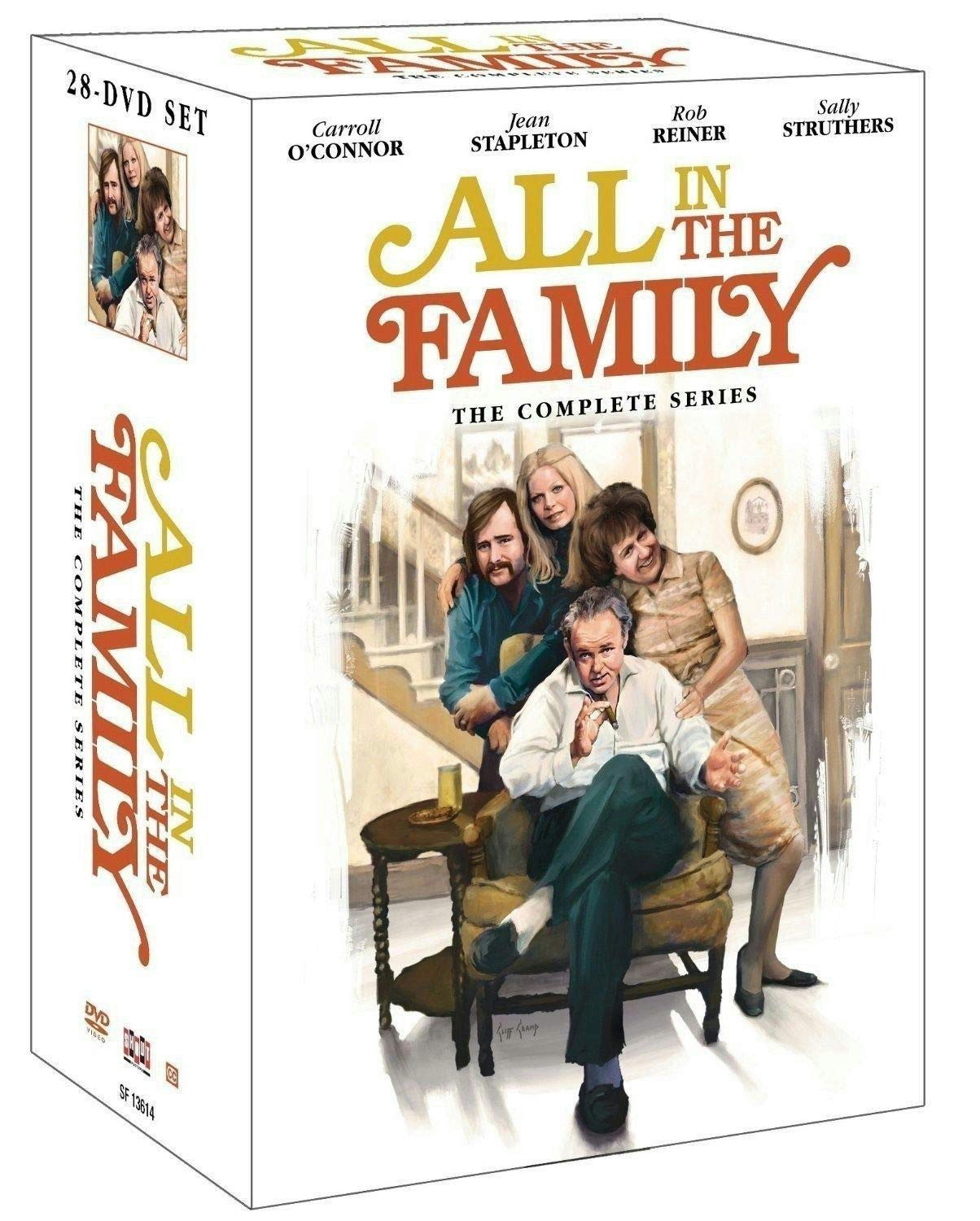 All in The Family The Complete DVD Series Seasons 1-9 DVD New by Brand new (Image #1)
