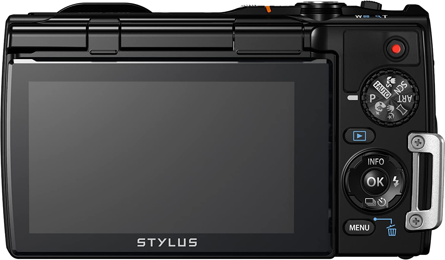 Lanyard Style Adjustable with Quick-Release. Olympus Stylus Tough TG-850 Neck Strap