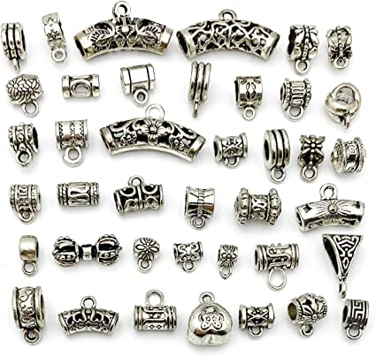 Mixed Styles Choose Connectors Spacer Bail Beads Charms Pendant DIY Findings