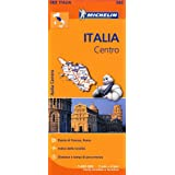 Italy Centre Regional Map 563 (Michelin Regional Maps)