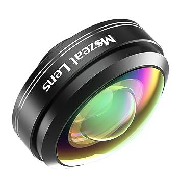 mozeat Lens Lente Gran Angular Smartphone Clip 238 grados de ojo ...