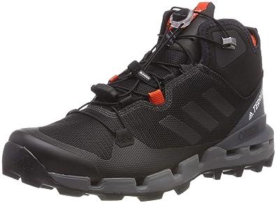 af4c90dcc adidas Men's Terrex Fast Mid GTX-Surround Cross Trainers, Core Black/Vista  Grey