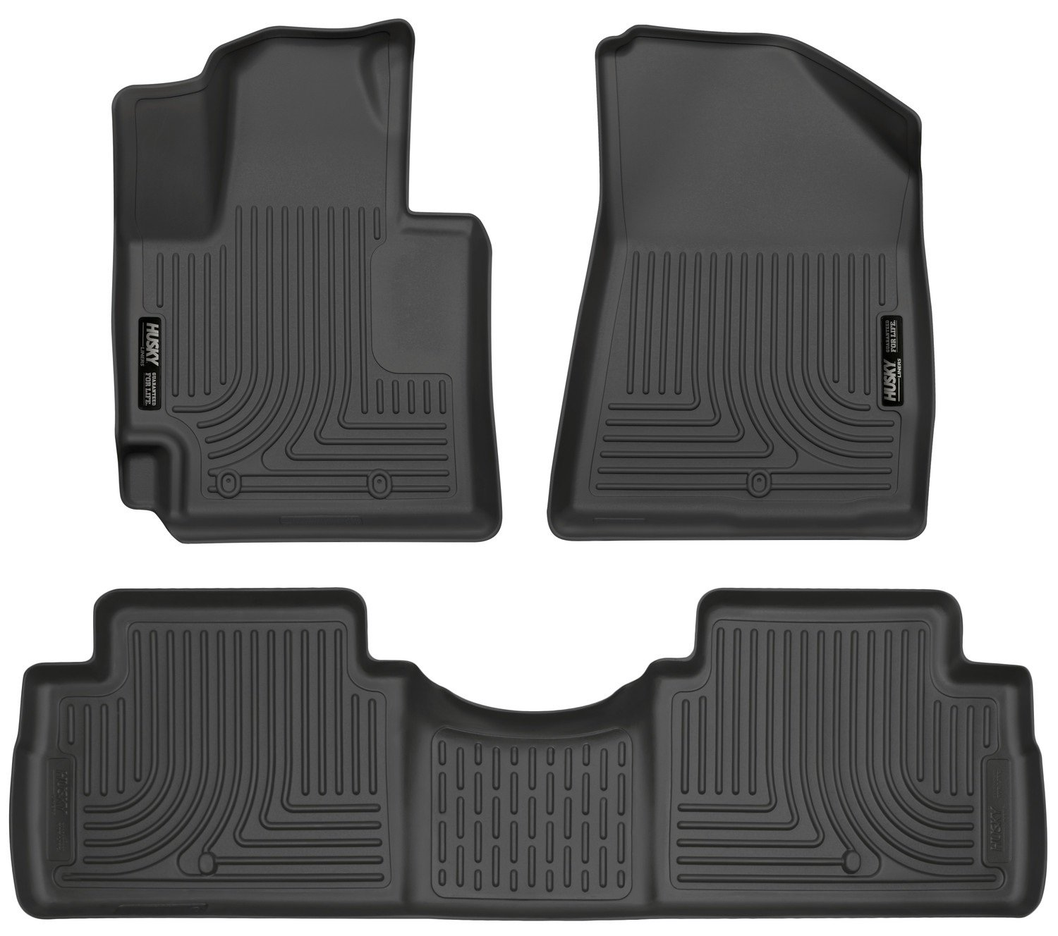 Weathertech floor mats 2015 kia soul - Amazon Com Husky Liners Front 2nd Seat Floor Liners Footwell Coverage Fits 14 16 Soul Automotive