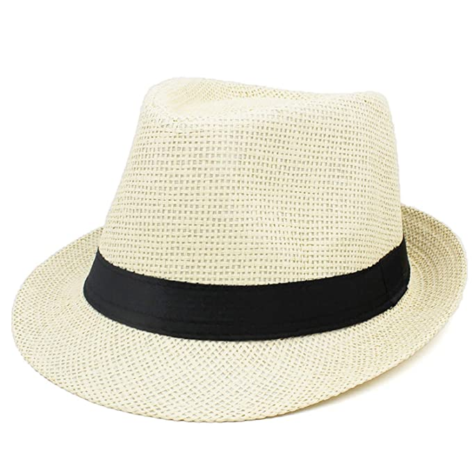 ca70222ff56 Women Fedoras Hat Fashion Jazz Cap New Adult Bucket Hat Sun Cap for Men  Teenager Summer