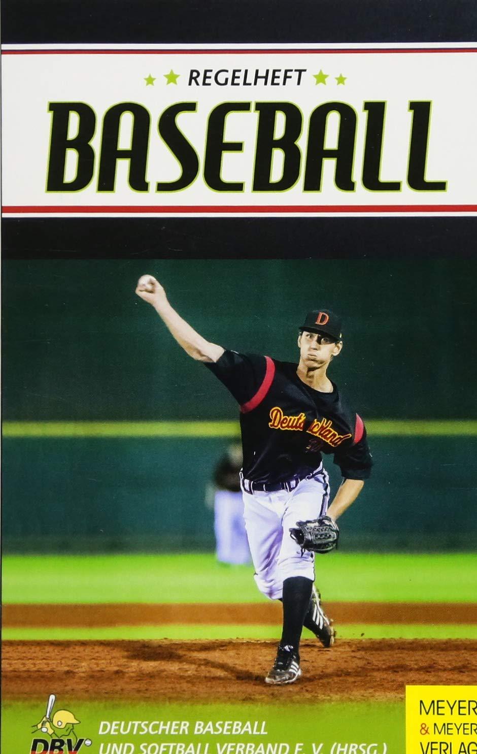 Regelheft Baseball  Das Offizielle Regelwerk Des Deutschen Baseball Und Softball