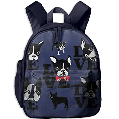 e0fd8d699ff1 Amazon.com | HZamora_DM Baby French Bulldog Love Oxford School Bag ...
