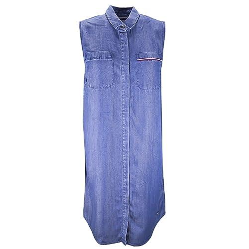 Tommy Hilfiger -  Vestito  - Camicia - Donna
