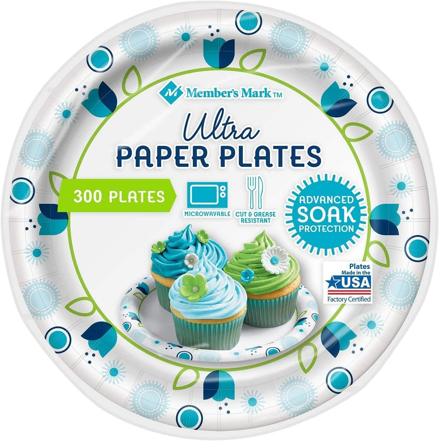 Member's Mark Ultra Plates, 6-7/8