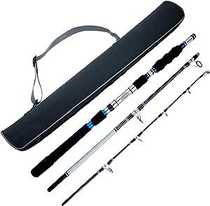 Berrypro Portable Graphite Fishing Rod