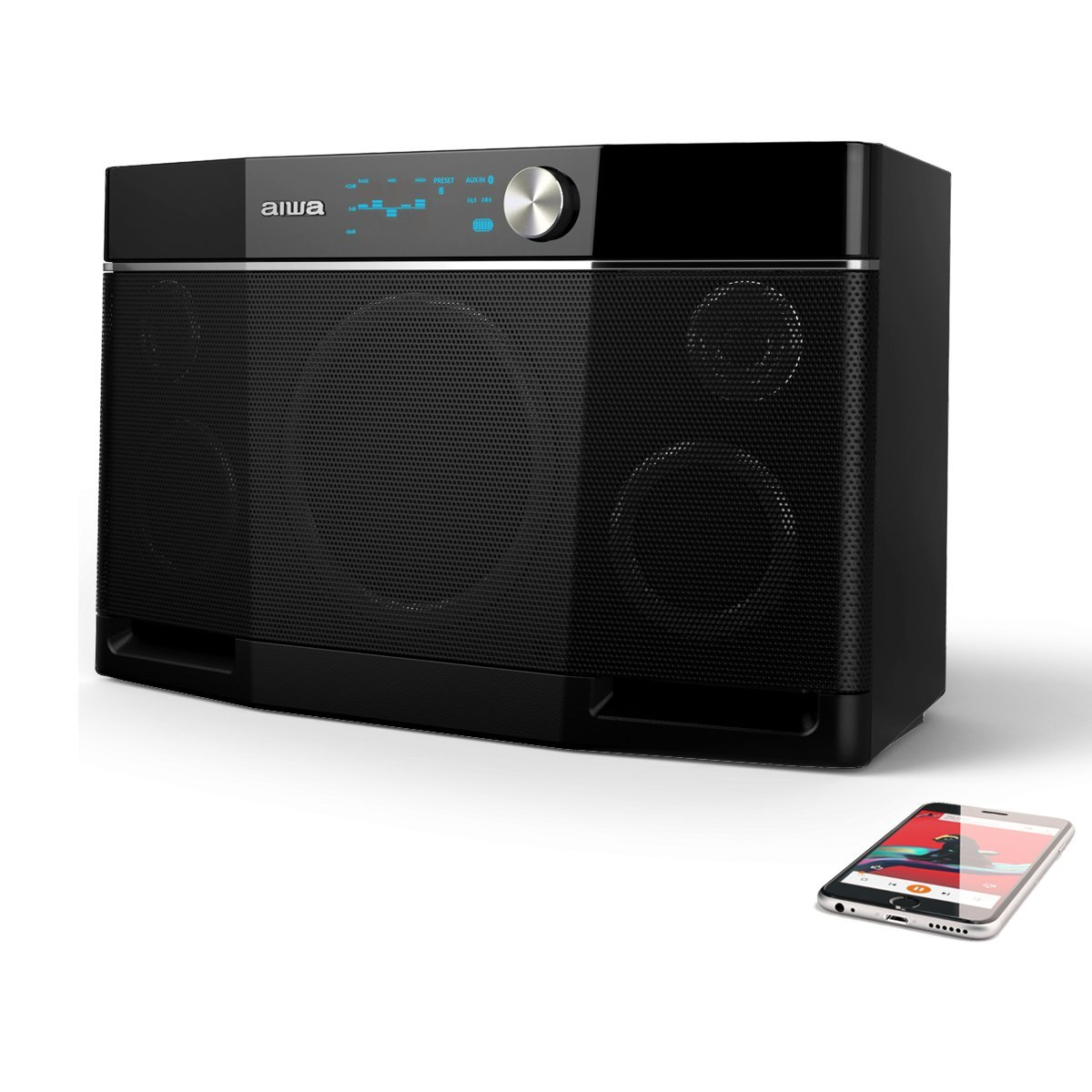 Aiwa Exos-9 Portable Bluetooth Speaker by Aiwa