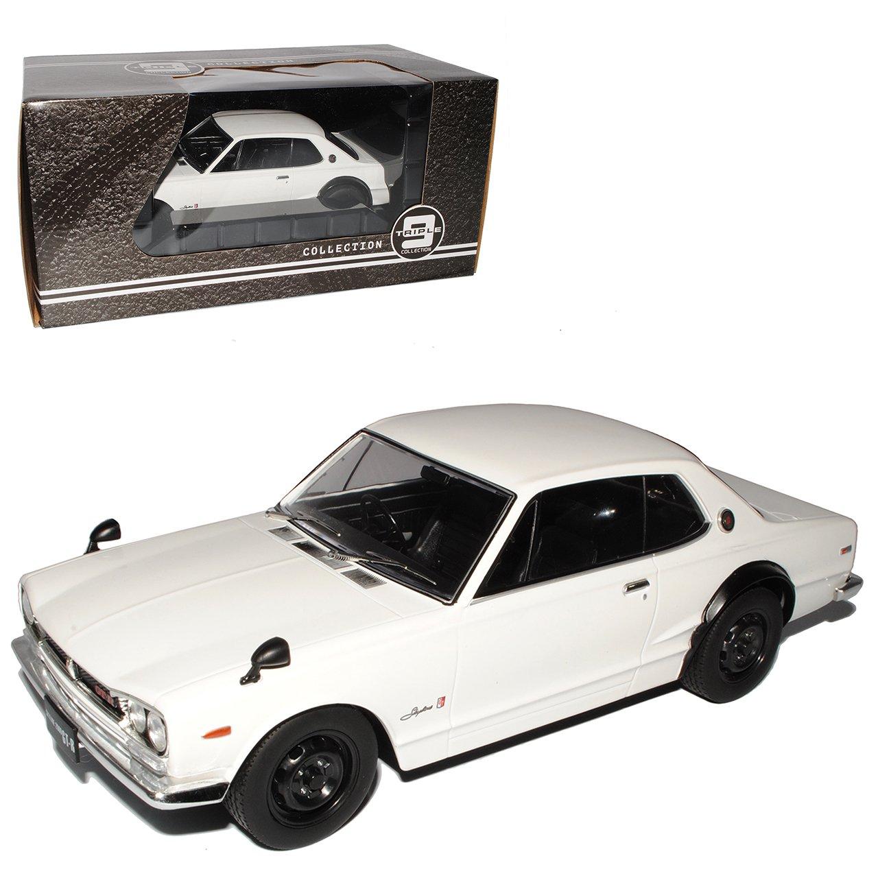 PremiumX C10 Nissan Skyline Typ C10 PremiumX GT-R KPGC10 Coupe Weiss 1968-1972 Triple 9 1/18 Modell Auto 04f70f