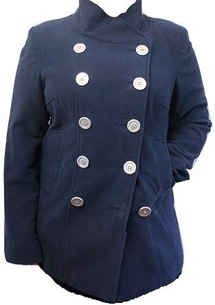 Blouson teddy femme bleu marine