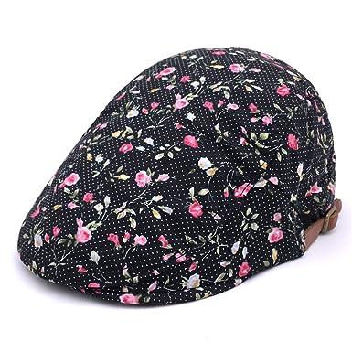 4ce56bef Soultopxin Men Adjustable Ethical newsboy Cap Male Cotton Warm Flat Hat:  Amazon.co.uk: Clothing