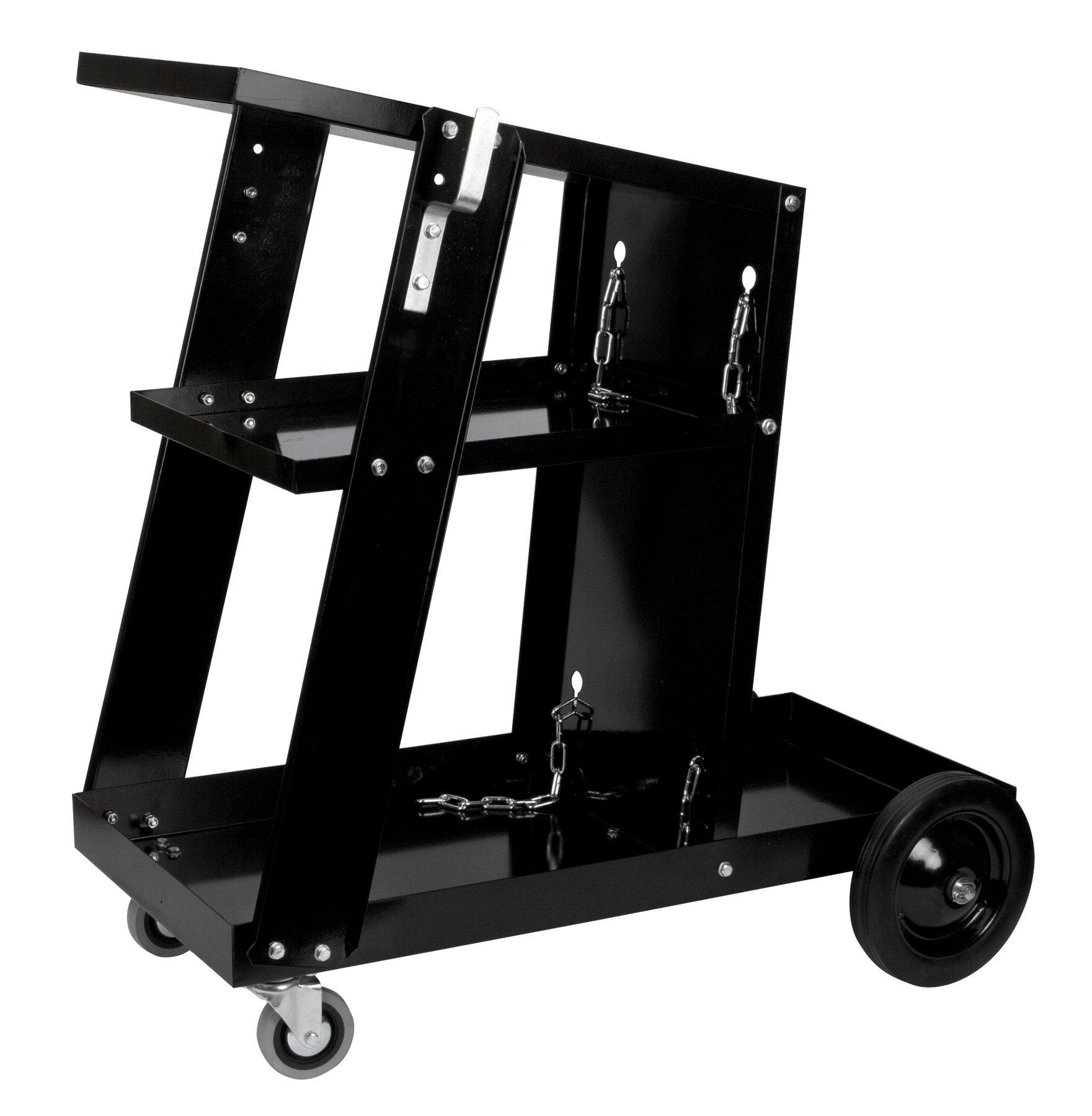 Performance Tool W53992 Welding Cart, Universal, Black Universal Welding Cart by Performance Tool (Image #1)
