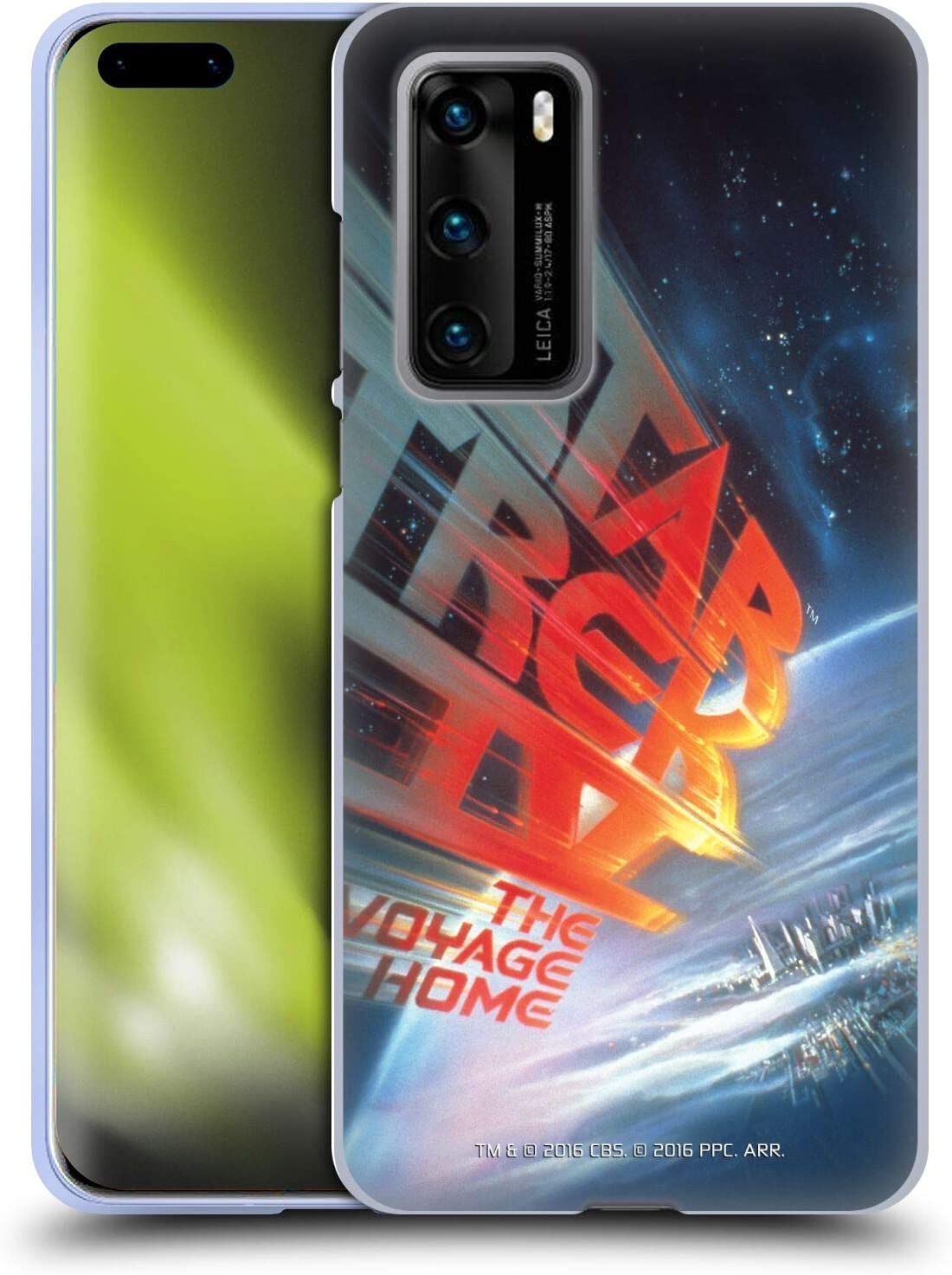 Head Case Designs Officially Licensed Star Trek The Voyage Home Movie Posters TOS Soft Gel Case Compatible with Huawei P40