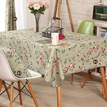 Rural Teapoy Washable Tablecloth Party Banquet Decoration Cloth Cover  European Table Sheet Dining Room Restaurant Table