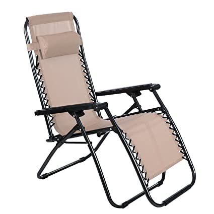 Amazon.com: Yuebo Zero Gravity silla plegable silla ...