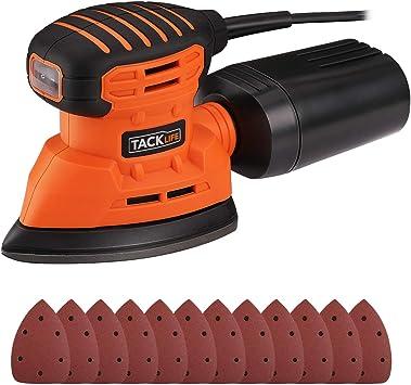 TACKLIFE Lijadora Eléctrica, 12000RPM 130W Lijadora Mouse para ...