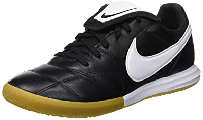 7cc15f78266 Nike Men s Premier II IC Indoor Soccer Shoes (Black White) (6.5 D
