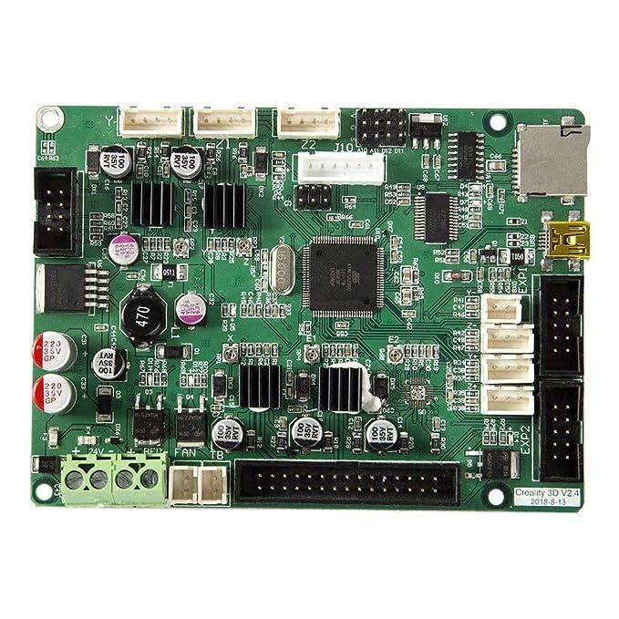 WOVELOT Creality Upgrade Impresora 3D Placa Base del Controlador ...