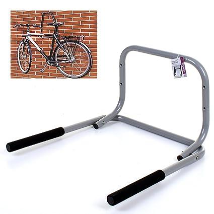 Marko soluciones de almacenamiento montado en la pared bicicleta Rack soporte fuerte plegable bicicleta gancho de