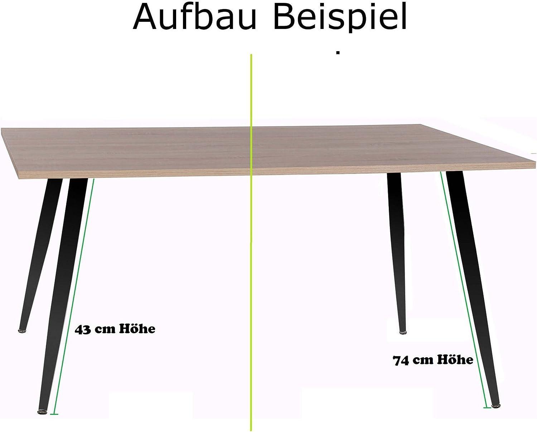 Höhe 4tlg Möbelfüße Sockelfuß Schrankfuß Sofafuß Tischfuß Tischbeine ver