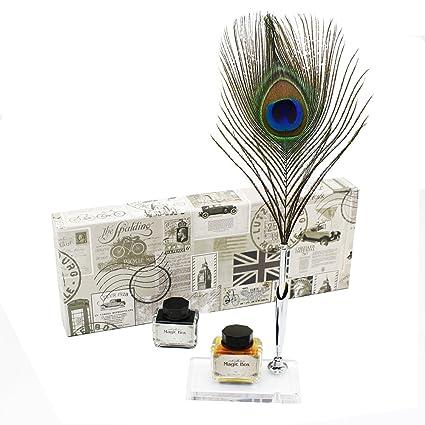 Amazon Featty New England Design Calligraphy Pen Gift Box