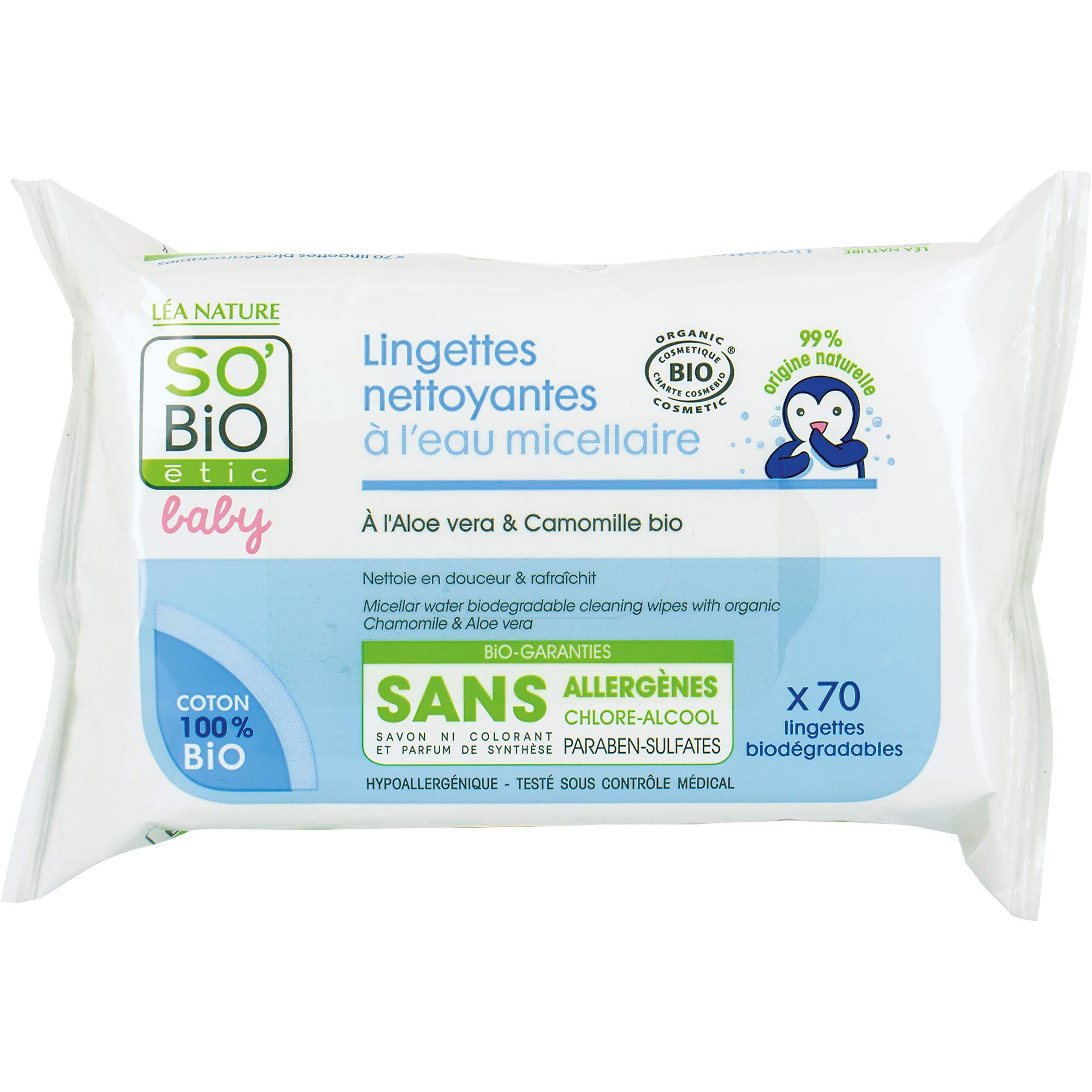 CannyMum Bamboo Biodegradable Baby Wipes 600 Chemical-Free Gentle Cloth Dry Wipes
