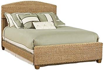 Amazon.com: Home Styles 5401-400 Cabana Banana Queen Bed, Honey ...