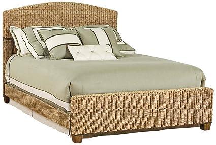 Craftsman arts craft mission bed frame set - Seagrass platform bed ...
