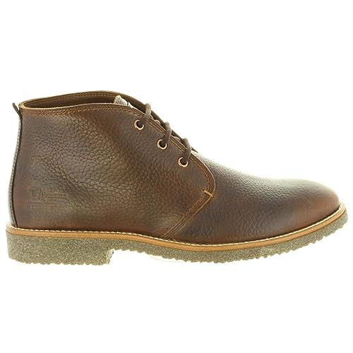 Botines de Hombre PANAMA JACK Gael C11 NAPA Marron: Amazon.es: Zapatos y complementos