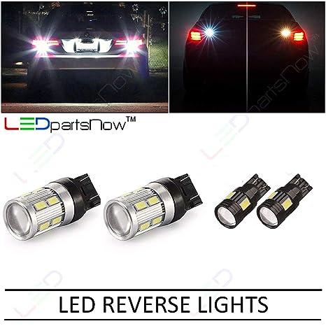 2011 – 2015 Jeep Grand Cherokee Reverse copia de seguridad Back up LED luz bombillas 921