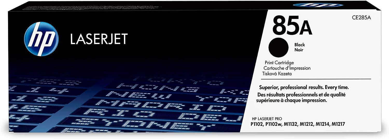 HP CE285A 85A Cartucho de Tóner Original, 1 unidad, negro: Amazon ...