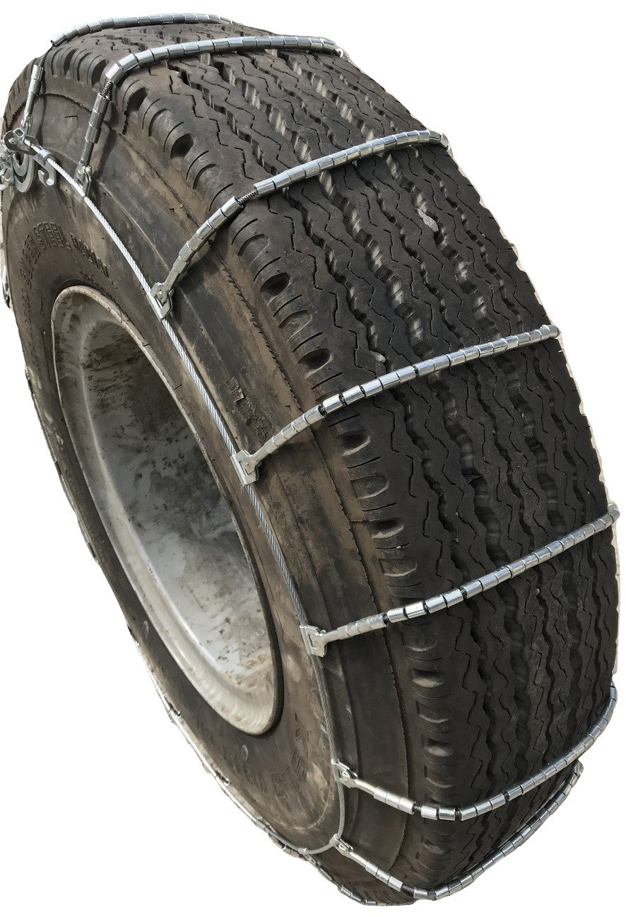 TireChain.com 2316 295/75-22.5, 295/75 22.5 Cable Tire Chains with Cam Set of 2