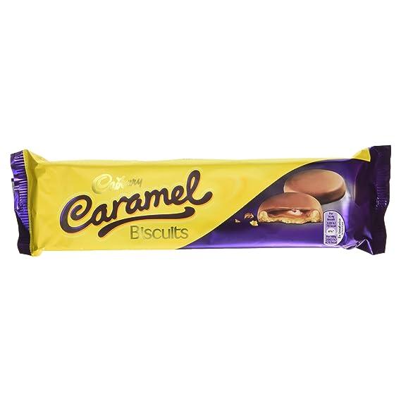 Paquete Galletas Caramel Cadbury 130 Gr