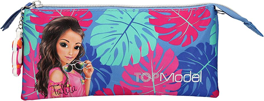 Top Model TOPModel Estuche tubularTROPICAL Azul (0010424), Color (DEPESCHE 1): Amazon.es: Juguetes y juegos