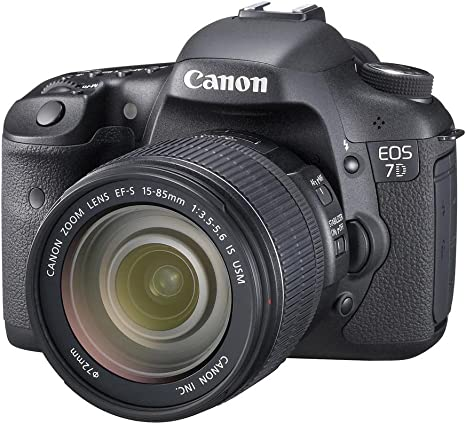 Canon EOS 7D - Cámara Réflex Digital 18 MP (Objetivo EF-S 15-85mm ...