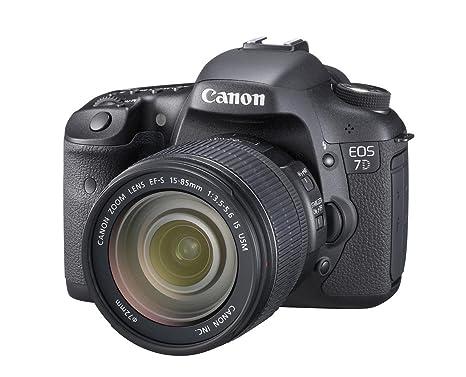 Canon EOS 7D SLR-Digitalkamera (18 Megapixel, 7,6 cm (3 Zoll) LCD-Display, Live-View, Full-HD Movie) Kit inkl. EF-S 15-85mm 1