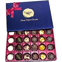 Chocholik 24Pc Great Indulgence of Yummy Chocolates Gifts - Valentine Gifts for Him
