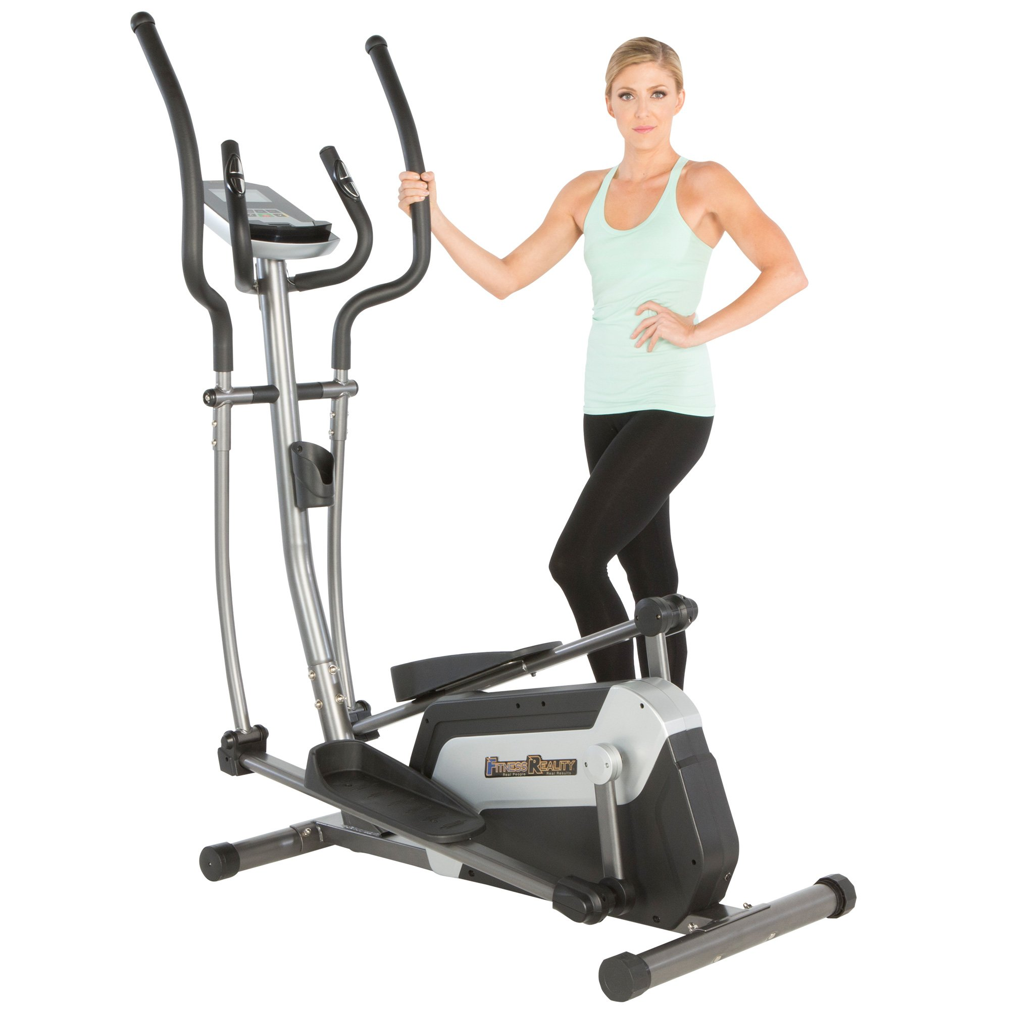 Fitness Reality E5500XL Magnetic Elliptical Trainer with Comfortable 18'' Stride
