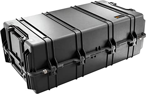 Pelican 1780T Transport Case - Caja (Polipropileno (PP), Negro, 1066 mm, 559 mm, 383 mm, 22,1 kg): Amazon.es: Informática