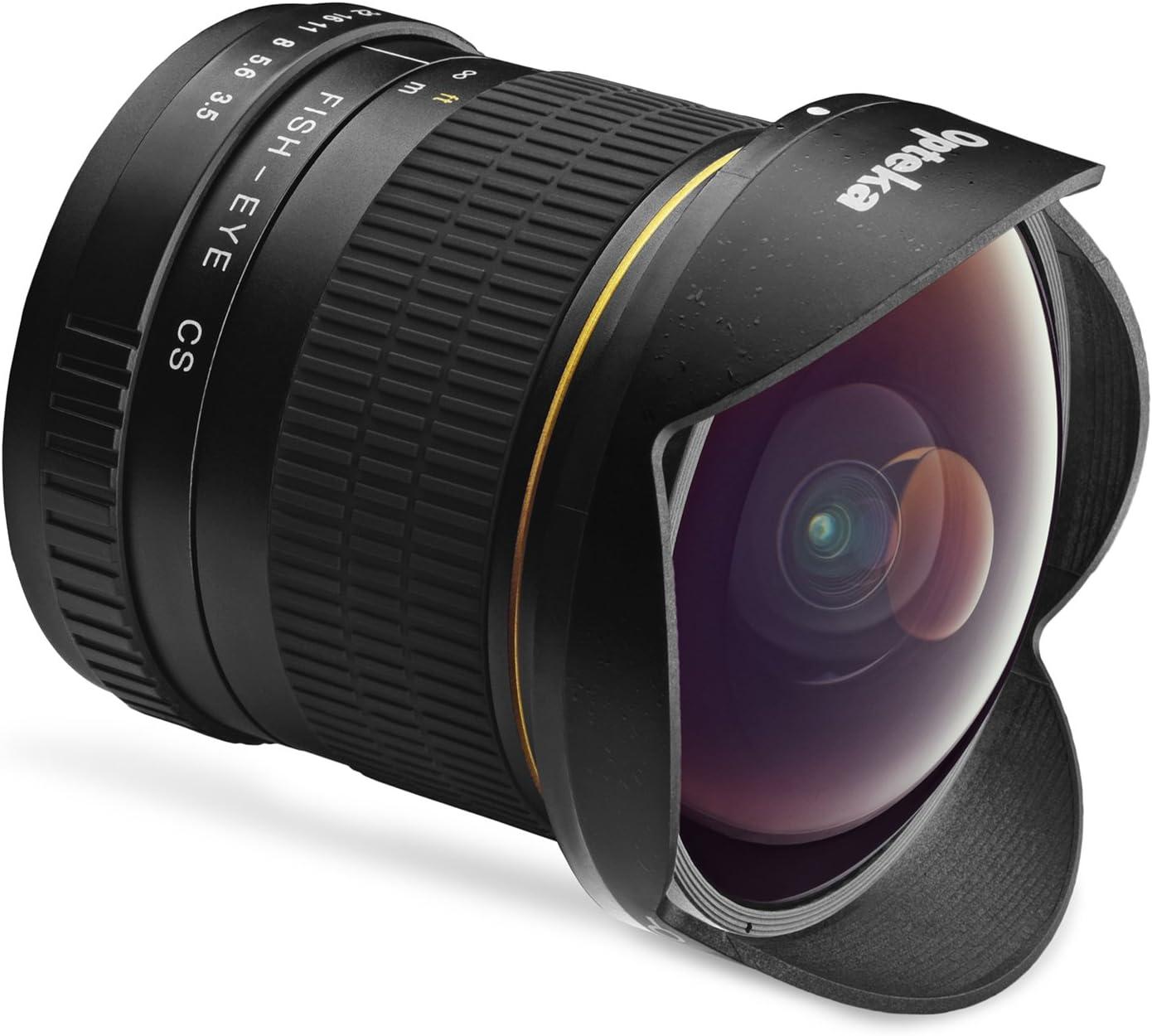 T7 T6 T6i T5i 7D T7s 77D T6s SL2 and SL1 Digital SLR Cameras 70D 60Da T5 60D Opteka 6.5mm f//3.5 HD Aspherical Fisheye Lens /& Removable Hood for Canon EOS 80D 50D T7i