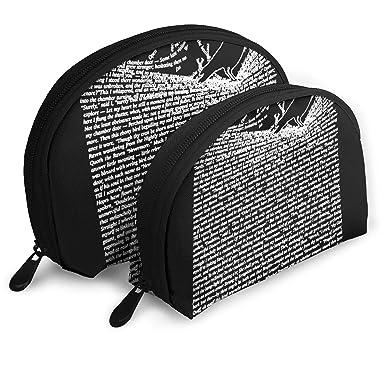 Amazon.com: The Raven - Juego de 2 bolsas de maquillaje para ...