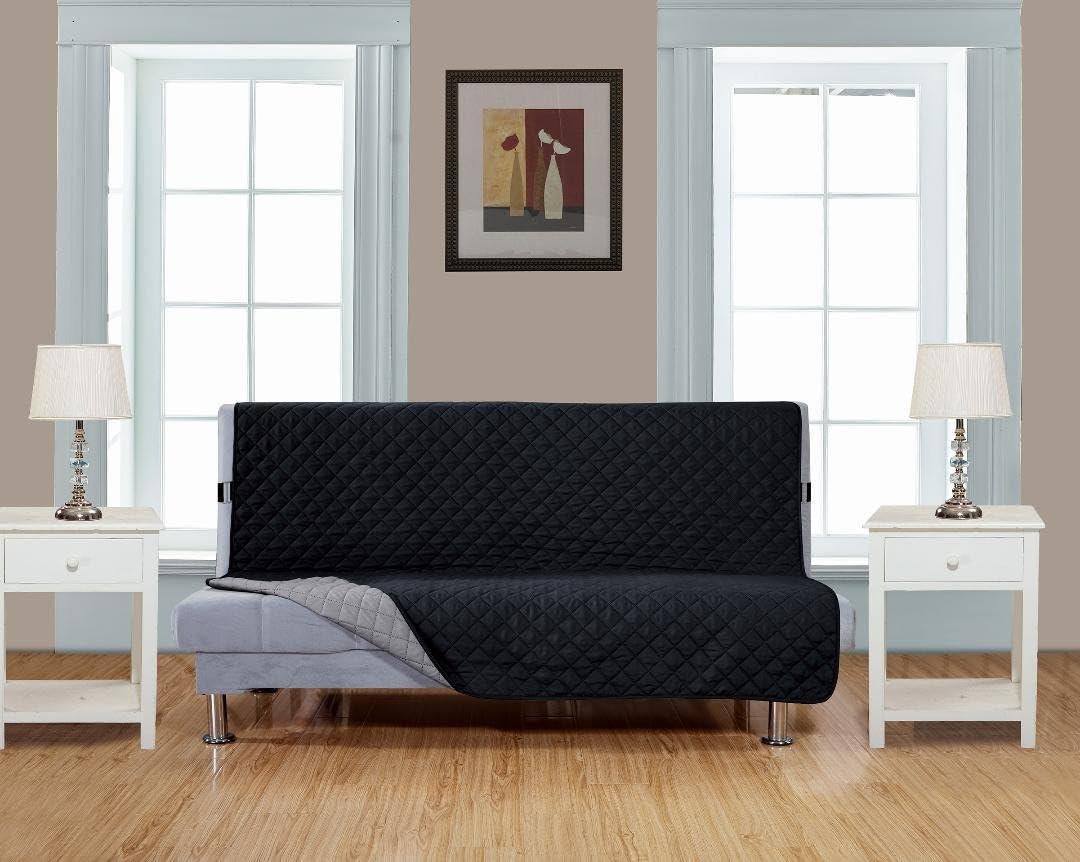 superior quality reversible futon cover     shop amazon     futon slipcovers  rh   amazon