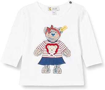 Steiff Baby-M/ädchen Mit S/ü/ßer teddyb/ärapplikation Hose