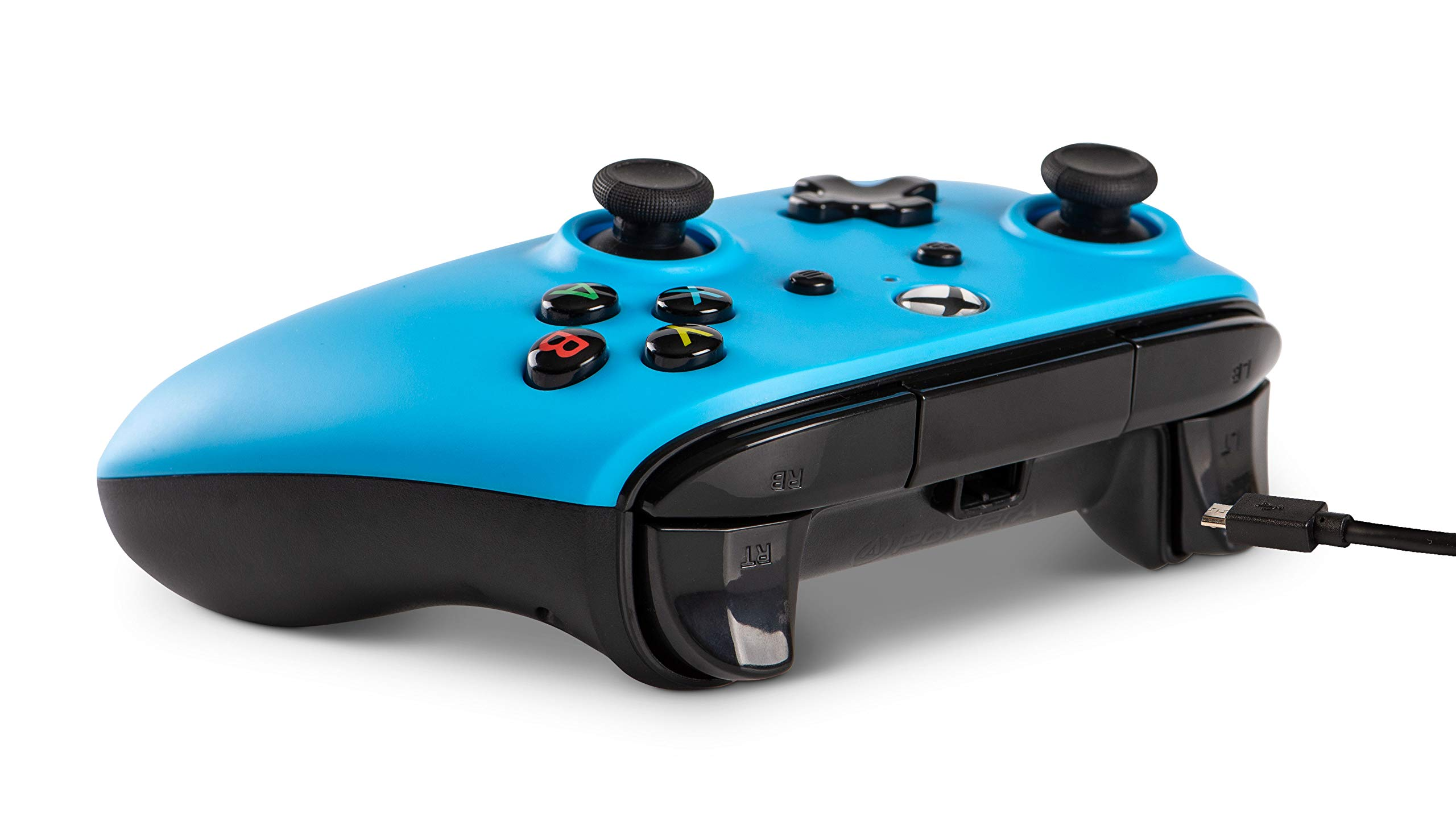 Wired Officially Licensed Controller For Xbox One, S, Xbox One X & Windows 10 - Blue (Xbox One)